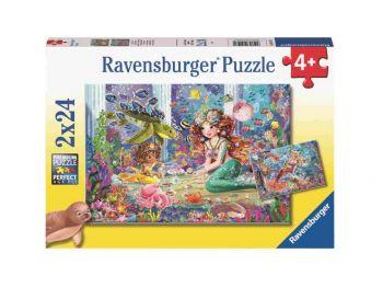 Sestavljanka Morske deklice 2x24 Ravensburger