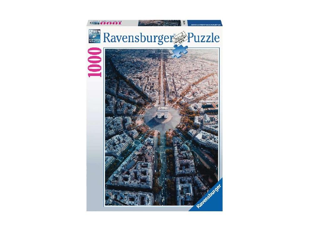 Sestavljanka Paris - Slavolok zmage 1000d Ravensburger