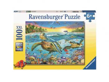Sestavljanka Plavanje z želvami 100XXL Ravensburger