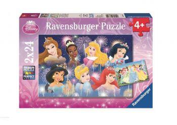 Sestavljanka Princese 2x24d Ravensburger