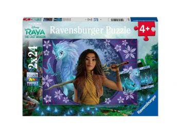 Sestavljanka Raya in zadnji zmaj 2x24 Ravensburger