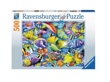 Sestavljanka Raznolik akvarij 500d Ravensburger
