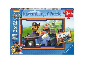 Sestavljanka tačke na patrulji&dirka 2x12 Ravensburger