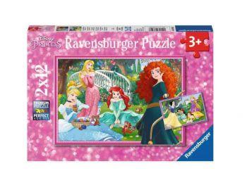 Sestavljanka v svetu Disney princesk 2x12 Ravensburger