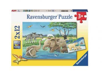 Sestavljanka živali sveta 2x24 Ravensburger
