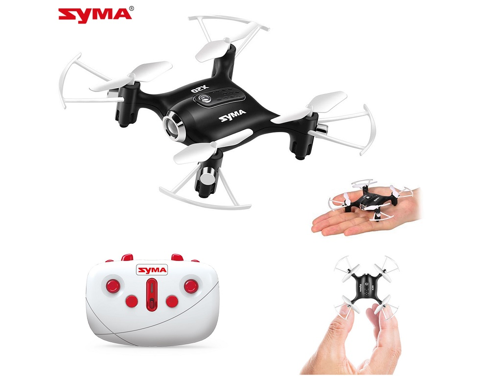 Dron SYMA X20 Pocket 2.4GHz Črn