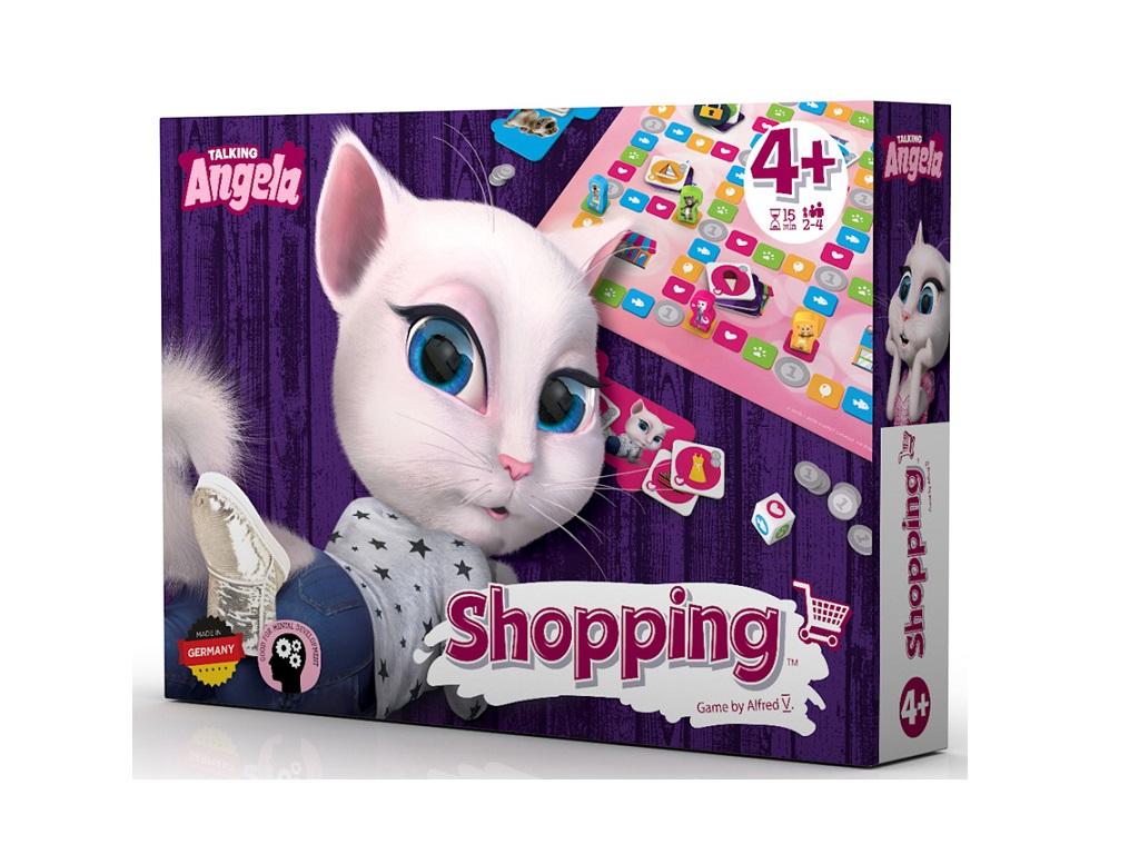 Družabna igra Talking Tom and friends - Shopping