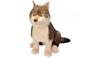 Volk 53 cm - plišasta igrača eigrače