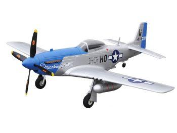 RC Letalo MUSTANG P-51D Blue RTF