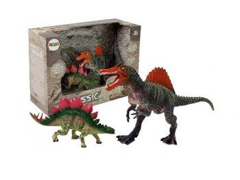Dinozavri set - figuri Spinozaver in Stegozaver