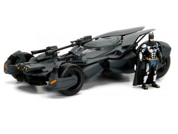 Kovinski avtomobil s figuro Batman - Justice League