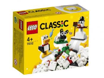 LEGO Classic Ustvarjalne bele kocke 11012