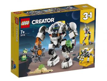 LEGO Creator Vesoljski rudarski robotski oklep 31115