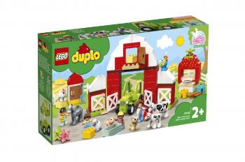 LEGO Duplo Hlev, traktor in nega živali na kmetiji 10952