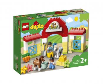 LEGO Duplo Konjska staja in oskrba ponijev 10951