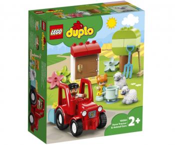 LEGO Duplo Traktor in oskrba živali 10950