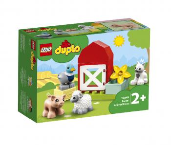 LEGO Duplo kmetija-oskrba živali 10949