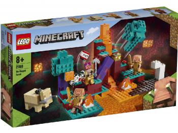 LEGO Minecraft Izkrivljeni gozd 21168