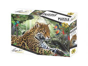 Puzzle sestavljanka 3D Gepard 500 kosov