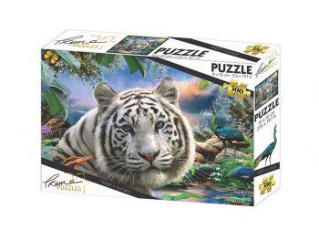 Puzzle sestavljanka 3D Beli tiger 500 kosov