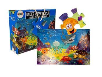 Puzzle Podvodni morski svet 48 kosov