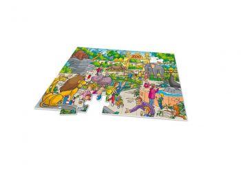 Puzzle za najmlajše XXL 2v1 z igro