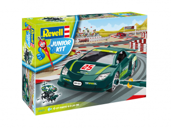 Revell Junior kit Racing Car zelen