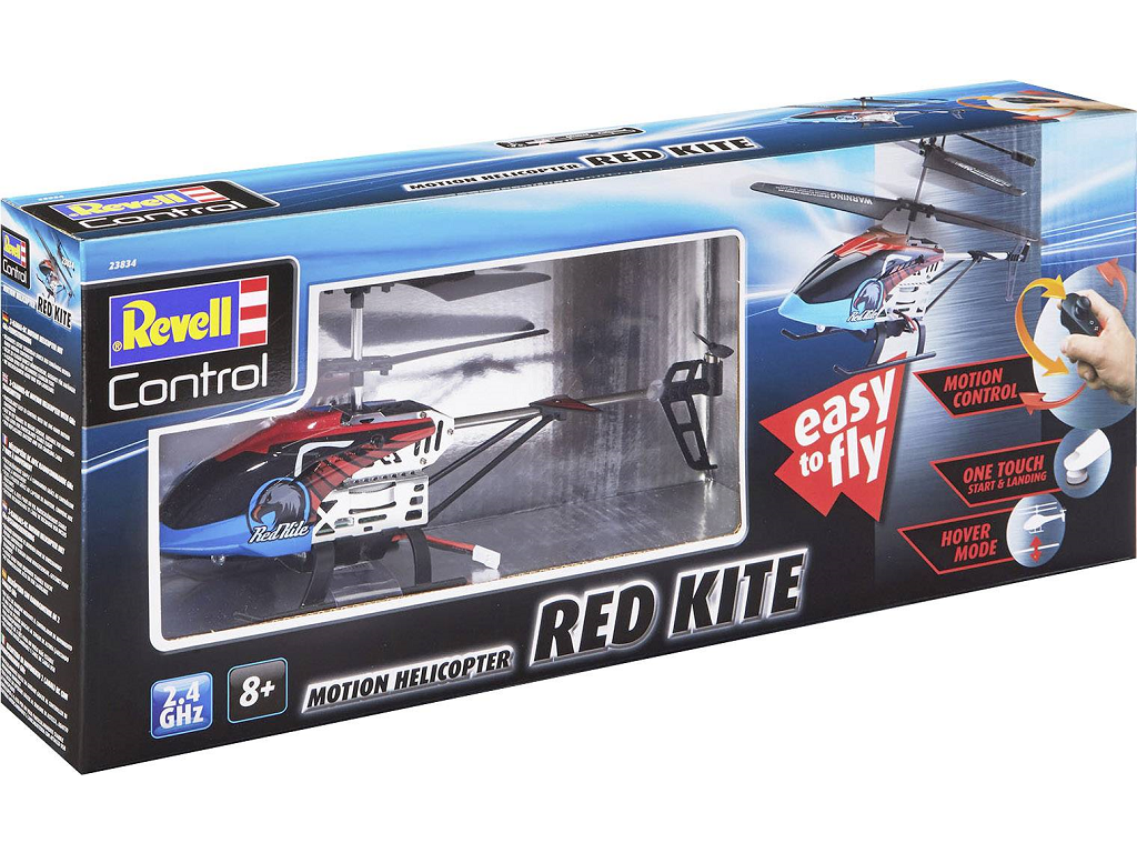Revell RC helikopter Red Kite 2,4 GHz