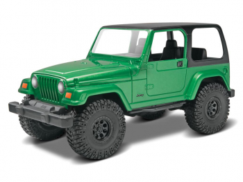 Revell maketa Jeep Wrangler Rubicon 1:25