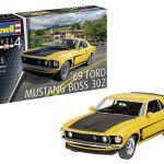 Revell maketa 1969 Boss 302 Mustang 07025