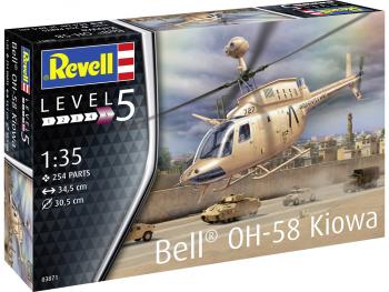 Revell maketa Bell OH-58 Kiowa 03871
