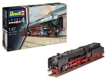 Revell maketa Express Locomotive BR01 & Tender 2'2′ T32