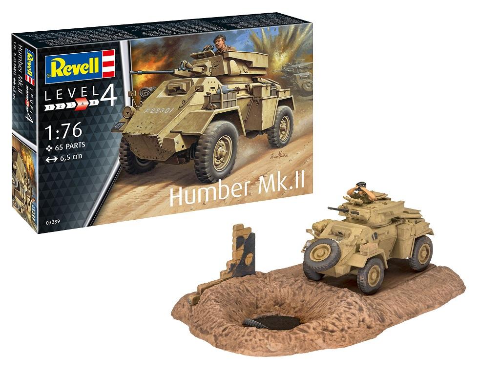Revell maketa Humber Mk.II 03289