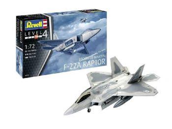 Revell maketa Lockheed Martin F-22A Raptor-150 03858