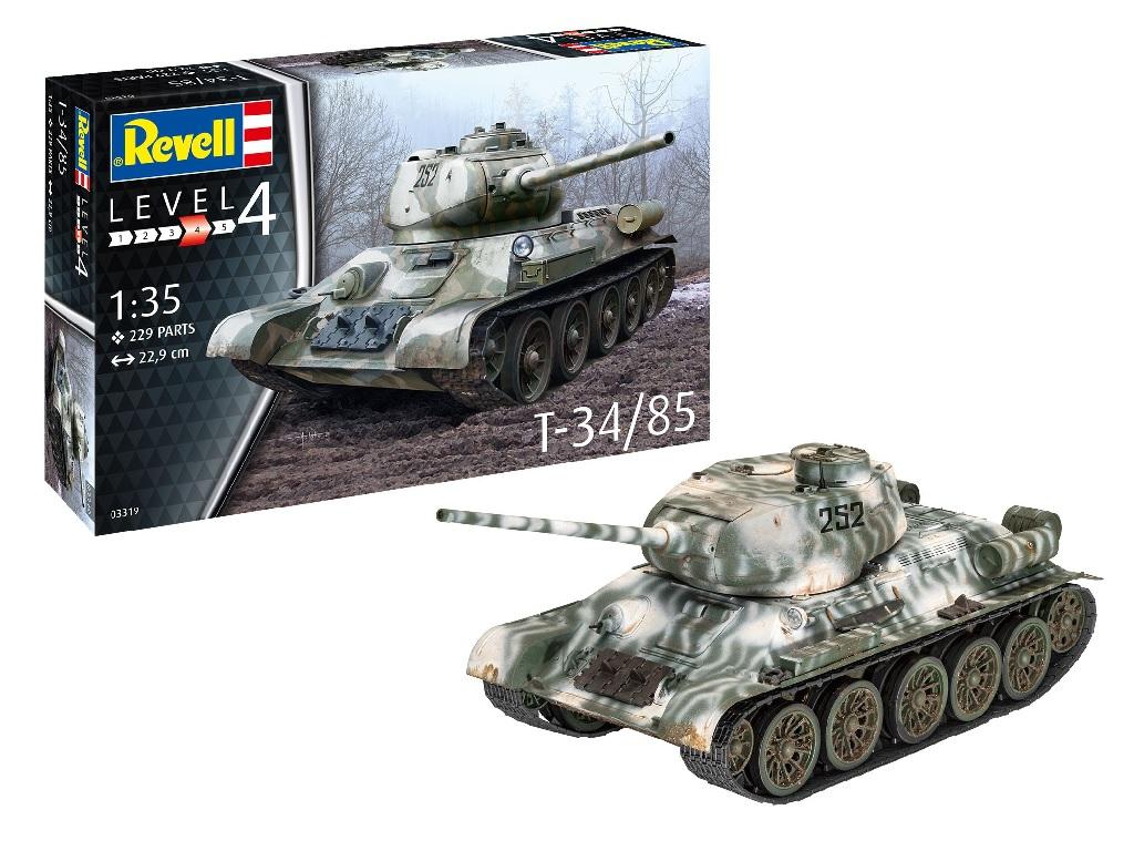 Revell maketa T34/85-165 03319