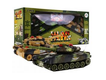 RC War Tank Battle Set 2.4GHz