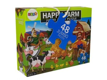 XXL Puzzle Vesela farma 48 kosov