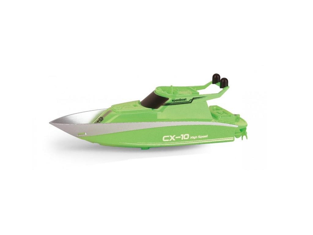 RC Mini Racing Yacht 2.4GH zelena