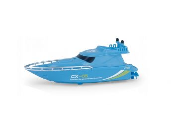 RC Mini Racing Yacht 2.4GHz modra