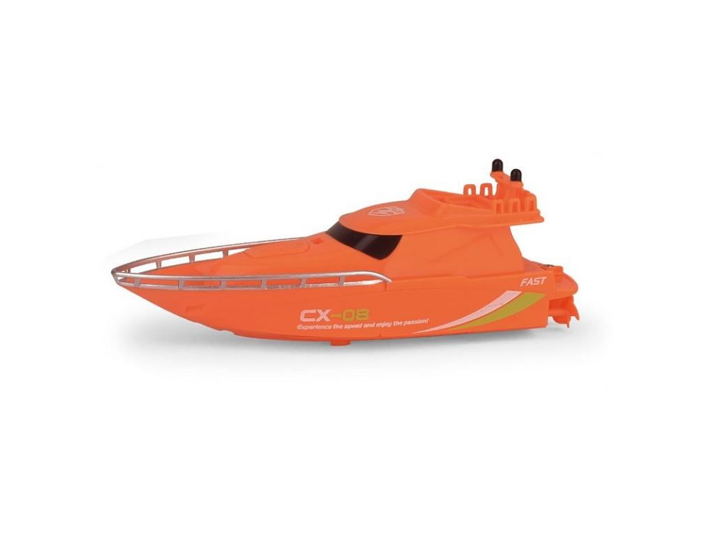 RC Mini Racing Yacht 2.4GHz oranžna