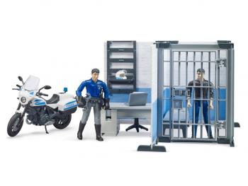Bruder Policijska postaja s policistom 62732