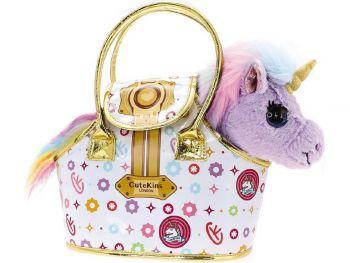 Cutekins plišasta igrača v torbici