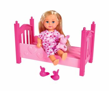 Evi love punčka s posteljico