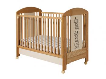 Otroška posteljica Lolek s predalom - natur eigrače
