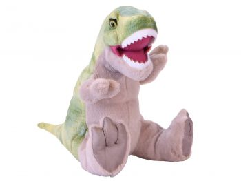 Plišasta igrača Dinozaver T-rex z zvokom 30 cm