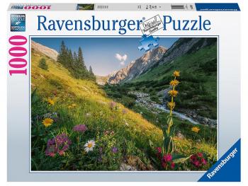 Ravensburger sestavljanka Alpska dolina 1000d