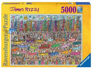 Ravensburger sestavljanka James Rizzi 5000d