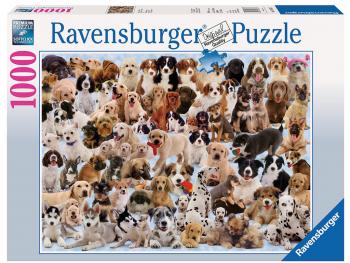 Ravensburger sestavljanka Psi 1000d