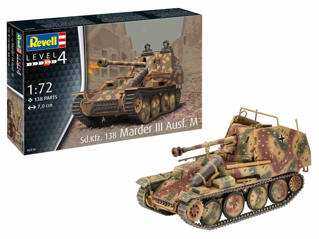 Revell maketa tanka Marder III 03316