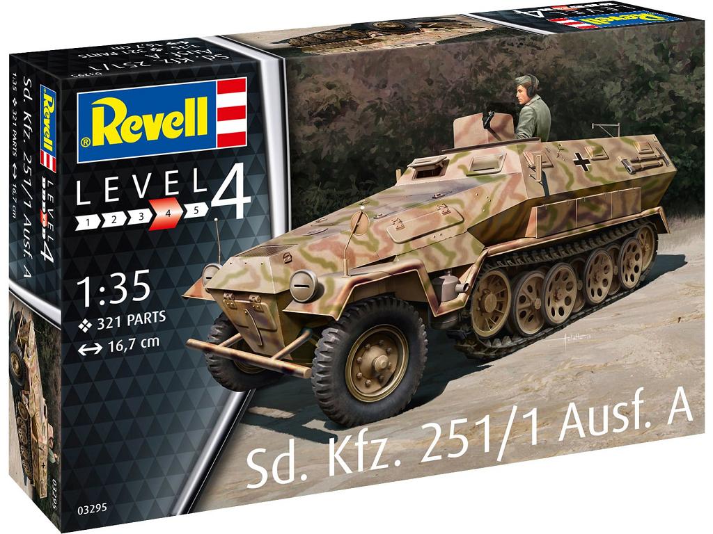 Revell maketa vojaškega vozila Sd. kfz. 251/1 Ausf. A 03295
